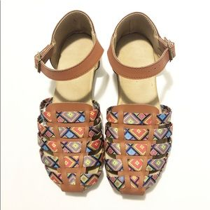 Other - Girls Huarache Sandals Mexican Tribal Ethnic